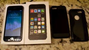 Iphone 5S unlocked,  Freedom wind