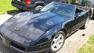 1990 Chevrolet Corvette Convertible  $13,000. 306 341 0978
