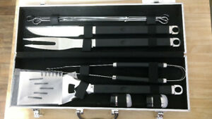 Barbecue Tool Set with Carrying Case