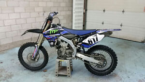 Mint condition 2013 YZ450F