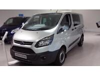 Ford Transit Custom 2.0TDCi Diesel 130PS 290 L1 H1 Double Cab in Van