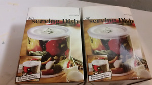 Dip serving dishes