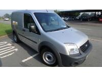 2011Ford Transit Connect 1.8TDCi ( 75PS ) Van T200 SWB silver 98044 miles NO VAT