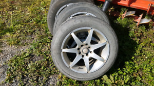 15 inch fast rims with good tires