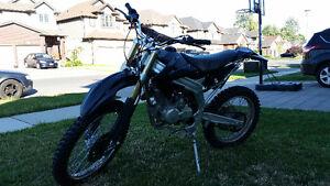 2013 250cc Dirt bike