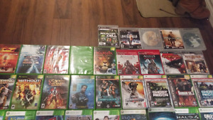 Game selection all are for sale for cheap but u have to pick up.