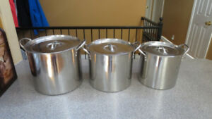 Stainless Steel Stock Pots for sale