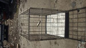 Dog  Crate  Small   with  Pan
