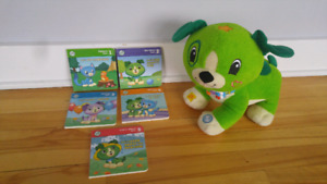 LeapFrog Read with me Scout and books