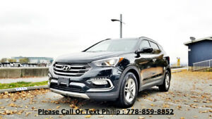 2018 Hyundai Santa Fe Premium SUV, Crossover