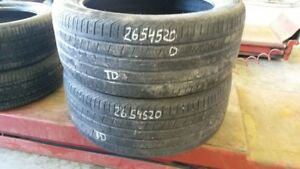 Pair of 2 Continental CrossContact LX Sport 265/45R20 tires (50%