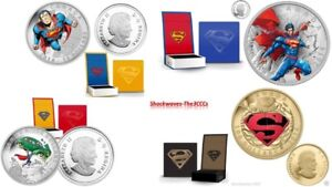 2014 Gold & Silver ICONIC SUPERMAN COMIC COVERS Complete Set