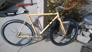 55cm fixie/single speed, bought last year