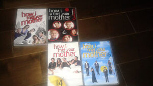How I Met Your Mother seasons 2-5 Mint condition.