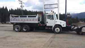 Freightliner Dump Truck with Snow Plow Prince George British Columbia image 7