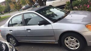 HONDA CIVIC 2001 (SELLING AS IS)