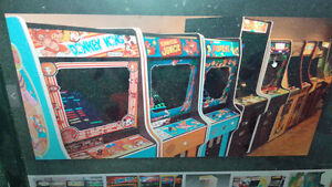 Classic Vintage Arcade Machines (working or not)