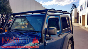 Roof Rack System suitable for Jeep Wrangler JK 2007-2016