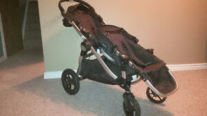 Baby Jogger City Select Double Stroller w/accessories