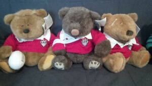 """Lands' End & Gund Authentic Collectible 12"""" bears"""