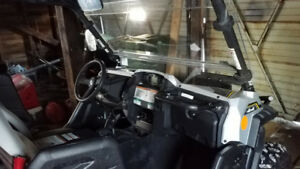 UTV for sale  yamaha wolverine r-spec SE 2017 km 2000 mint condi