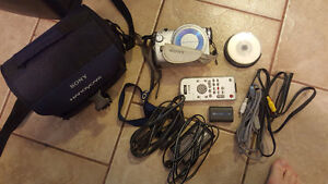 Sony Handycam model DCR-DVD100