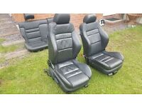 VW GOLF 4 MK4 HEATED LEATHER SEATS