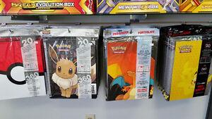 Pokemon Pikachu, Charizard, Eevee & More Ultra Pro Binders