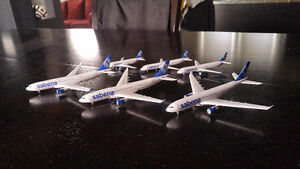 6x 1:400 Dragon Wings Diecast Model Airplanes