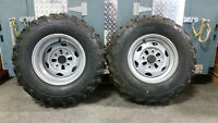 Honda 500 Four Tires with Rims