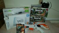 Wii package with fit board