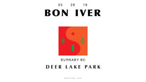 [SOLD OUT] 4 Tickets to Bon Iver - May 26