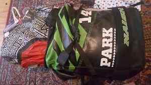 Naish park 14 kite +bar + slingshot board
