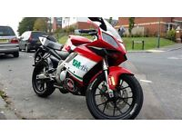 Gilera sc125 motorbike