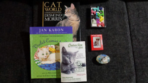 """3D Cat Card Deck, Catstax Puzzle, """"Cat World"""" coffee table book"""