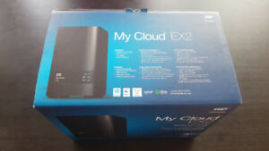 Brand new WD My Cloud EX2 Ultra 4TB Network Attached Storage