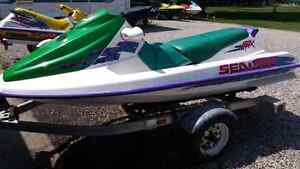 1995 seadoo gtx 3 seater with or without trailer