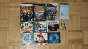 Assorted Video Games (PC, Nintendo, Sony)