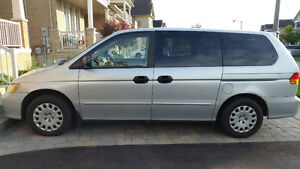 2004 Honda Odyssey Minivan - original owner, very good condition