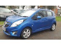 Chevrolet Spark 1.2 LT (blue) 2012