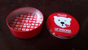 coca cola lip smacker tin