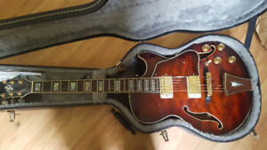 ibanez art core hollowbody guitar
