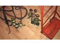 welding gauges & pipes 2 sets