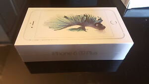 BNIB sealed iPhone 6s Plus Silver 32 GB for sale (Metrotown)