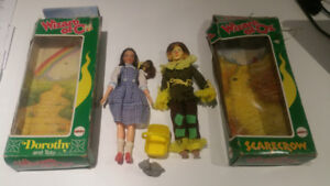Various Vintage Mego Action Figures