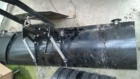5 foot plow universal fit used once