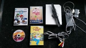 Chipped Pal Wii 1 Controller with 4 Games *READ THE AD
