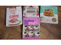 4 X cook or baking books
