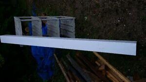9' white composite post sleeve Kitchener / Waterloo Kitchener Area image 1