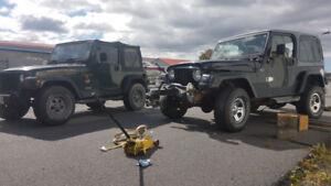 Wanted:  Jeep chassis swap mechanic
